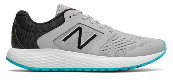 New Balance Men's 520v5 Shoes Grey with Blue