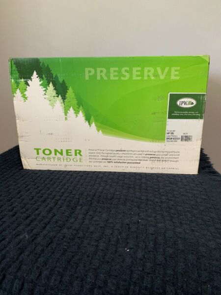 IMAGE PROJECTIONS WEST / Preserve Toner Cartridge / Use W/5Si Laser printer