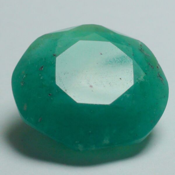 RARE! 15.55 ct NATURAL GEM SILICA CHRYSOCOLLA  RAY MINE ROUND CUT STONE