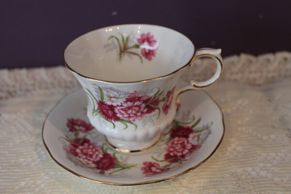 PARAGON #x27;FLOWER FESTIVAL K#x27; TEA CUP AND SAUCER MADE IN ENGLAND