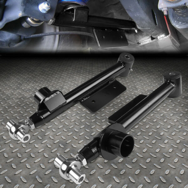 FOR 99 04 FORD MUSTANG PAIR ADJUSTABLE REAR SUSPENSION LOWER CONTROL ARMS KIT $108.88