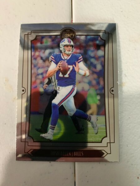 2019 Panini Legacy Football Josh Allen Premium Chrome $2.99