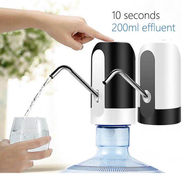 USB Charging Bucket Electric Drinking Water Pump Automatic Water Dispenser Easy