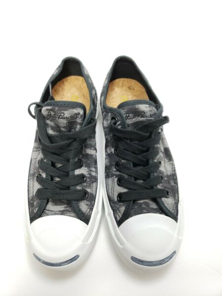 Camouflage Converse Jack Purcell Jack Ox Maso Mason Black US Mens 4 Women 5.5