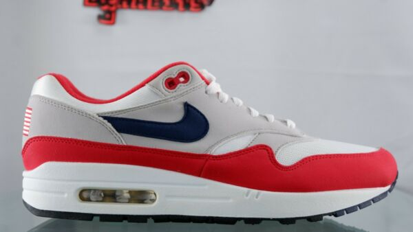 NIKE AIR MAX 1 USA Size 9.5 4th OF JULY QUICK STRIKE BANNED BETSY ROSS FLAG
