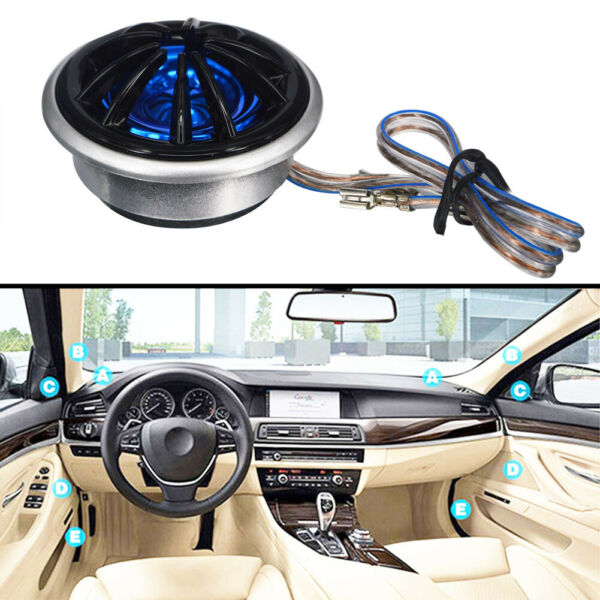 Universal Car Mini Audio Speaker Tweeters Amplifier Stereo High Frequency 130W