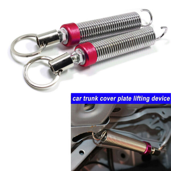 2x Red Adjustable Auto Car Trunk Boot Lid Automatic Lifting Spring Device Tool