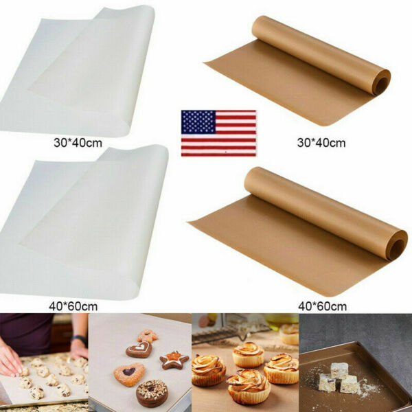 HM Baking Sheet Work Silicone Mat Kitchen Oven Tray Liner Pizza Pastry Non-Stick