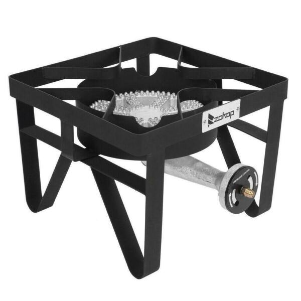 Square 200000 BTU Outdoor Stove Propane Burner Cooking Gas Portable BBQ Grill
