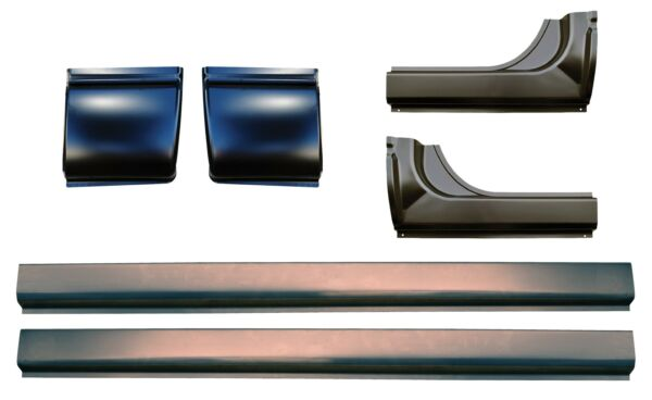 Slip-on Rocker Panels & Cab Corner Kit for 06-09 Ram 1500 2500 3500 Mega PAIRS