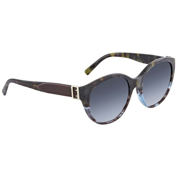 Burberry Sunglasses BE4242F 36364L Green Havana Blue Havana Blue Gradient Lens $89.95