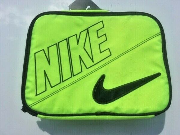 ~NWT Boys NIKE Neon Insulated Pocket Lunch BoxPail
