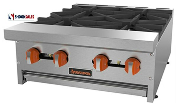 Sierra SRHP-4-24 Hotplate Gas Countertop 24