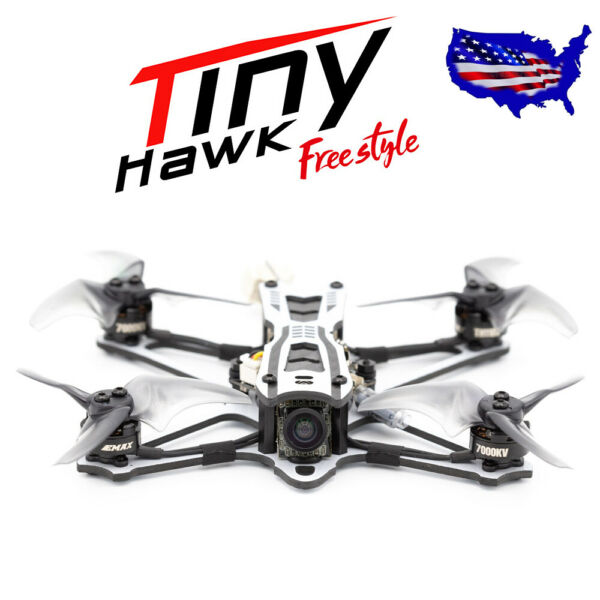 EMAX Tinyhawk Freestyle 2s Outdoor Micro Drone Carbon Fiber Frame US