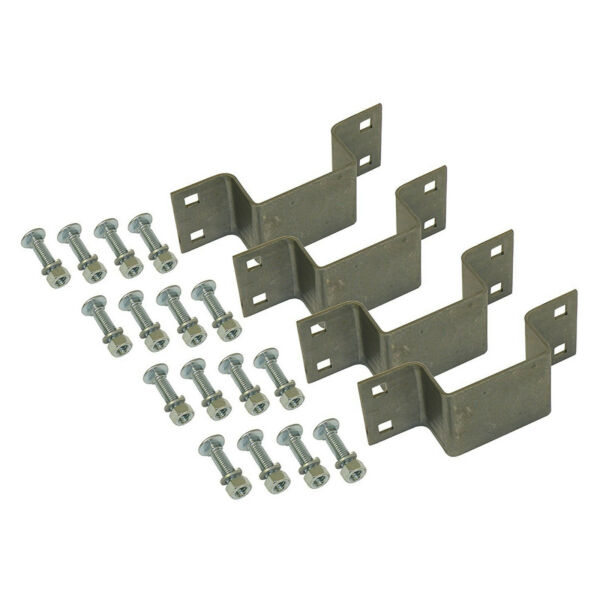 Rigid Hitch 4 Pack Bolt On Stake Pockets with Mounting Hardware $20.36