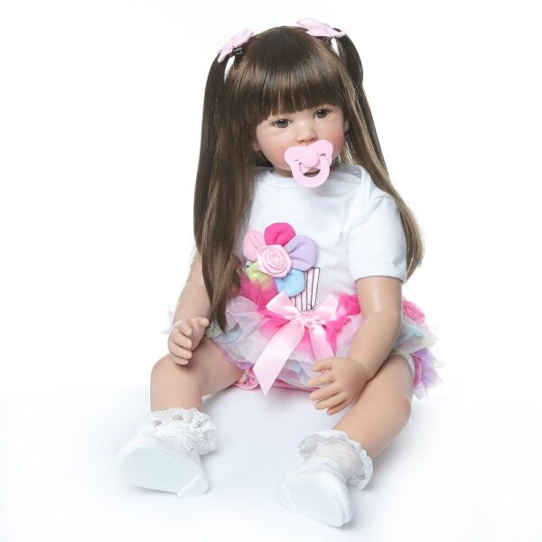 High Quality 60CM Collectible Doll Princess Reborn Toddler Girl Baby Dolls