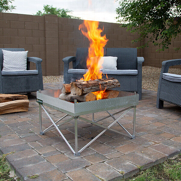 Reconditioned Portable Fire Pits For Camping Backyard Beach or Outdoor Patios