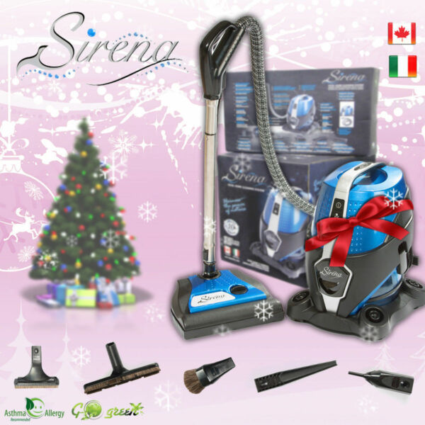 NEW SIRENA VACUUM ULTRA DELUXE PACKAGE