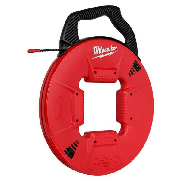 Milwaukee 48 22 4167 200 Feet Polyester Fish Tape Non conductive Tip $169.99