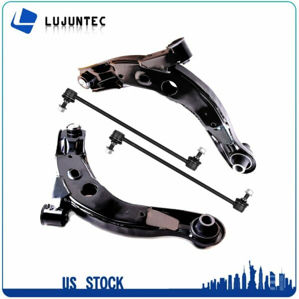 4pc Kit: Lower Control Arms + Ball Joints and Sway Bar Links for Mazda MPV