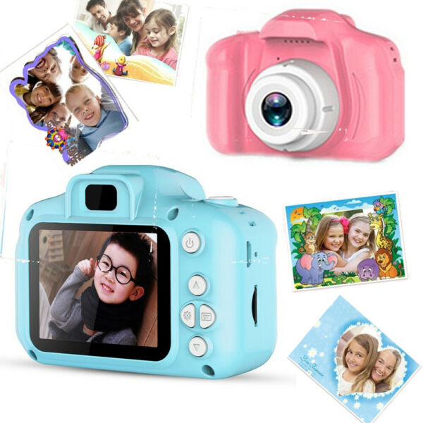 DC500 Mini Digital Camera for Kids Baby Cute Camcorder Video Child Cam Recorder