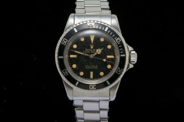 Rolex Submariner 5513 Starburst dial