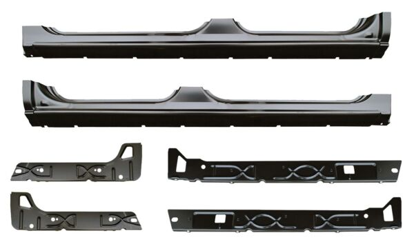 Rocker Panel Inner Rocker Kit for 02-07 Chevy Silverado Sierra Tahoe Crew Cab