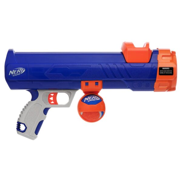 Nerf Dog Tennis Ball Blaster with 1 Blaster Reload Medium