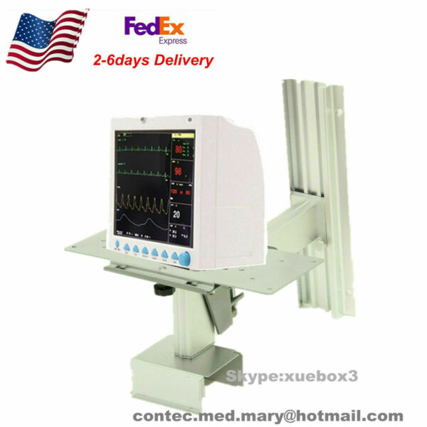 Patient Monitor Wall mount bracket for patient monitor CONTEC CMS8000 US Fedex