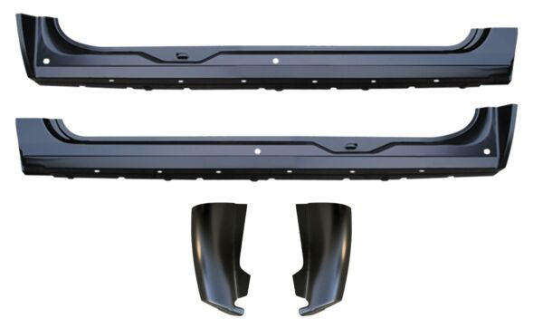 OE Style Rocker Panel Cab Corner Kit for 07-13 Chevy Silverado GMC Ext. Cab PAIR