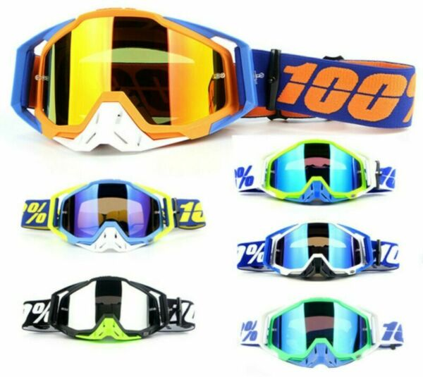 Motorcycle Racing Goggles Motocross MX MTB ATV UTV Dirt Bike Off road Eyewear $17.99