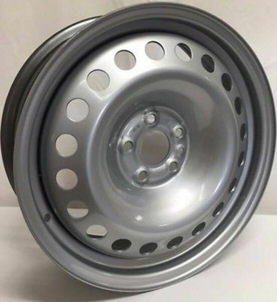 New 16 Inch 5 Lug Silver Steel Wheel Fits Promaster City WE7452N