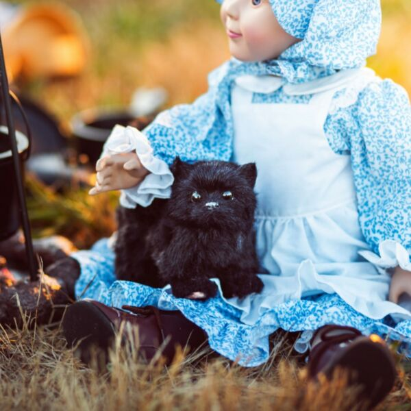 The Queen#x27;s Treasures BLACK KITTY CAT Accessory Pet For 18quot; American Girl Dolls $14.94