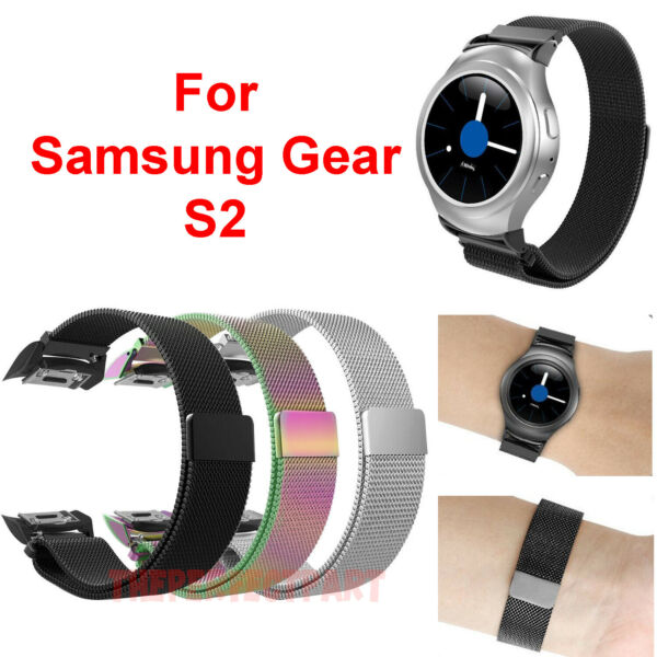 For Samsung Galaxy Gear S2 SM-R720 & SM-R730 Watch Band Bracelet Magnet Milanese
