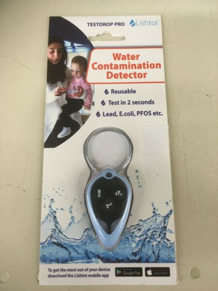 Lishtot TestDrop Pro Water Tester 2 Second Contamination Testing New