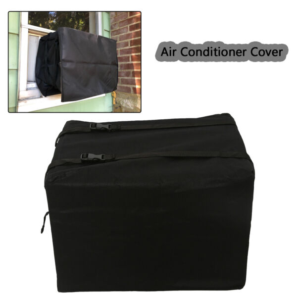 Outdoor Air Conditioner Cover AC Protector Anti-Dust Anti-Snow Waterproof 2 Size
