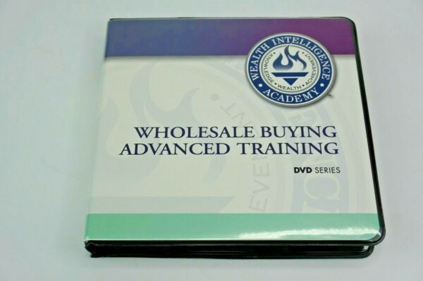 REAL ESTATE WHOLESALE BUYING ADVANCED SERIES COMPLETE DVD SET W CDROM MANUAL