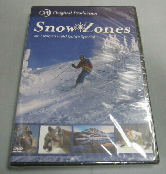 Snow Zones Oregon Field Guide Special 2006 OPB Public Broadcasting DVD Video NEW