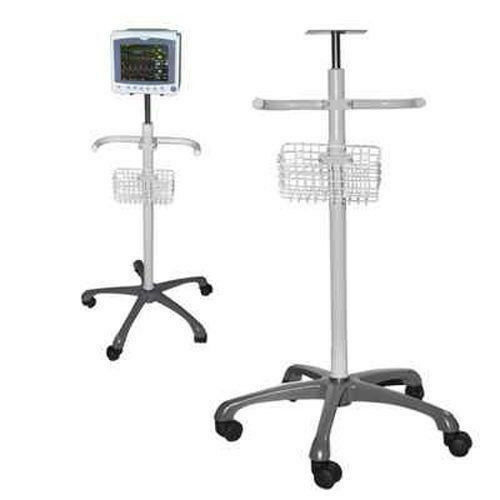 US CONTEC Trolley Stand cart Mount Rolling Stand For portable Patient Montior