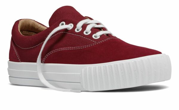 PF Flyers Made in USA Windjammer Unisex Shoes Red Size