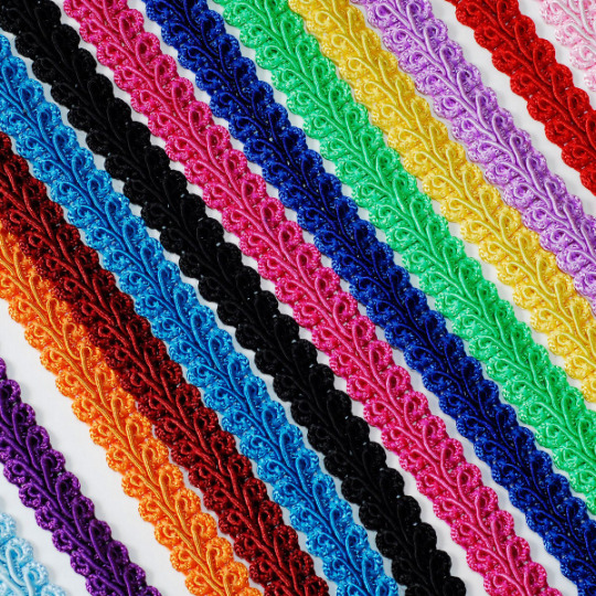 25 Yards French Braided Gimp Trim DIY Sewing Supply Costume Making Pillow Decor