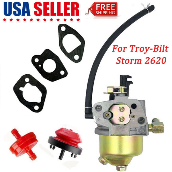 For Troy-Bilt Storm 2620 208cc 26-in Two-Stage Snow Blower Carburetor carb US