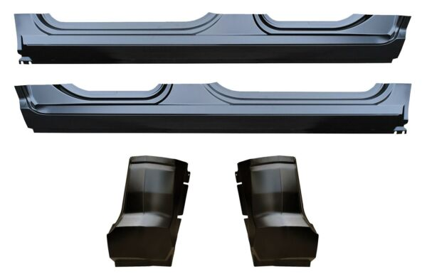 OE Style Rocker Panel & Cab Corner Kit for 09-16 Ram Quad Cab Pickup Truck
