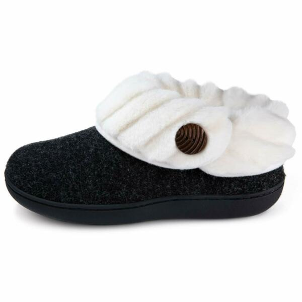 Wishcotton Women'S Cute Comfy Fuzzy Felt Memory Foam Slippers Indoor Outdoor N $50.28