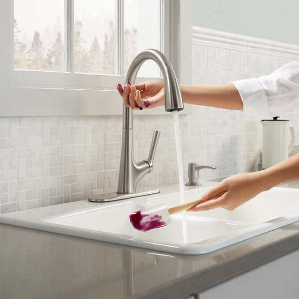 Kohler Malleco Touchless Pull-down Kitchen Faucet With Soap Dispenser MIB