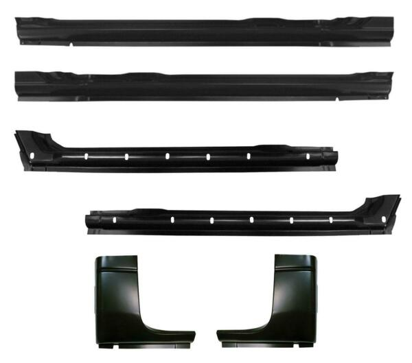 Inner & Outer Rocker Panel & Cab Corner Kit for 94-01 Dodge Ram Pickup Crew Cab