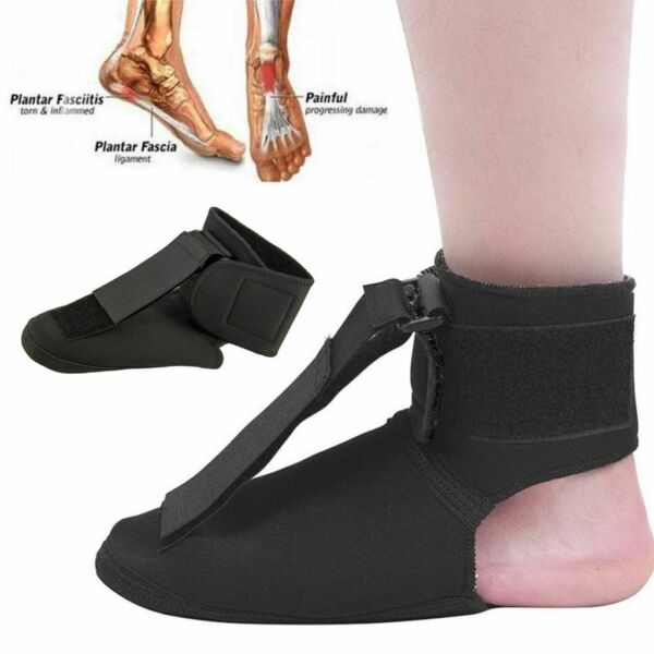 Adjustable Plantar Fasciitis Night Splint Foot Brace Fashion Support Toe Pain US
