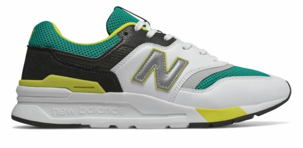New Balance Men's 997H Shoes Green with White