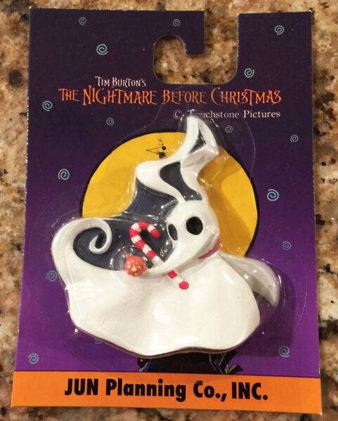 Nightmare Before Christmas Zero Resin Face Magnet by JUN Planning Vintage 2001