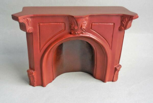 DOLLHOUSE MINIATURE FALCON CAST FIREPLACE RETIRED